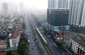 Chạy thử tàu đường sắt Cát Linh - Hà Đông