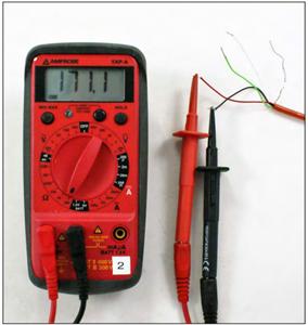 Làm sao để kiểm tra khi nghi ngờ cảm biến dây rung & dây tín hiệu bị hư hại ?