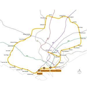 GEOTECH TAIWAN thi công dự án quan trắc tuyến MRT Circle Line Singapore