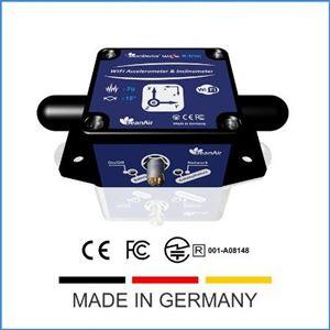 Cảm biến đo rung 3 chiều kết hợp đo nghiêng 2 phương Germany